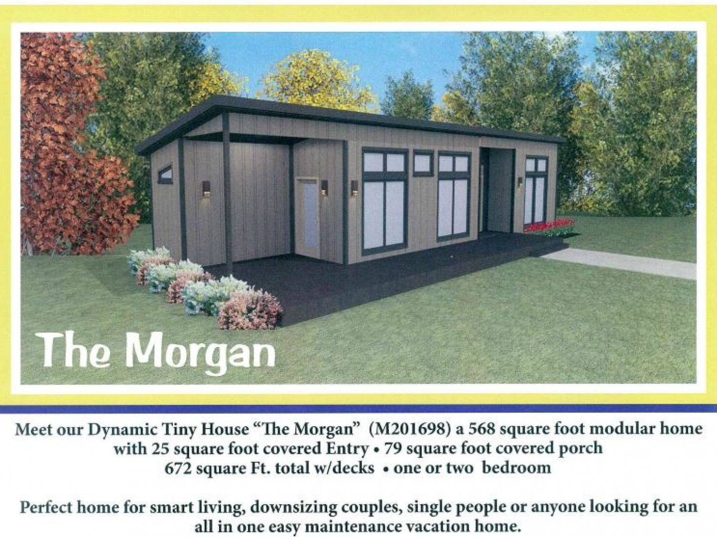 NEW!! Our version of the Tiny Home